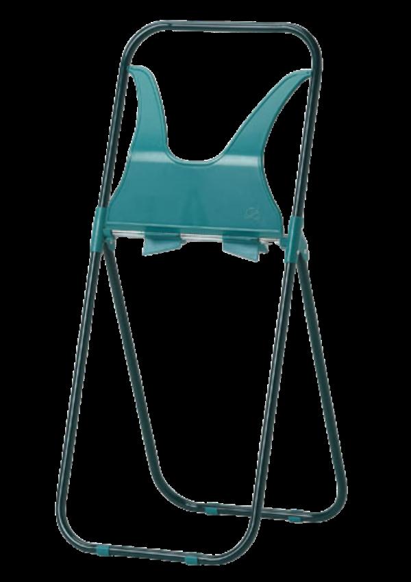 Ocynkowany przenośny stojak na czyściwa w rolkach DK13