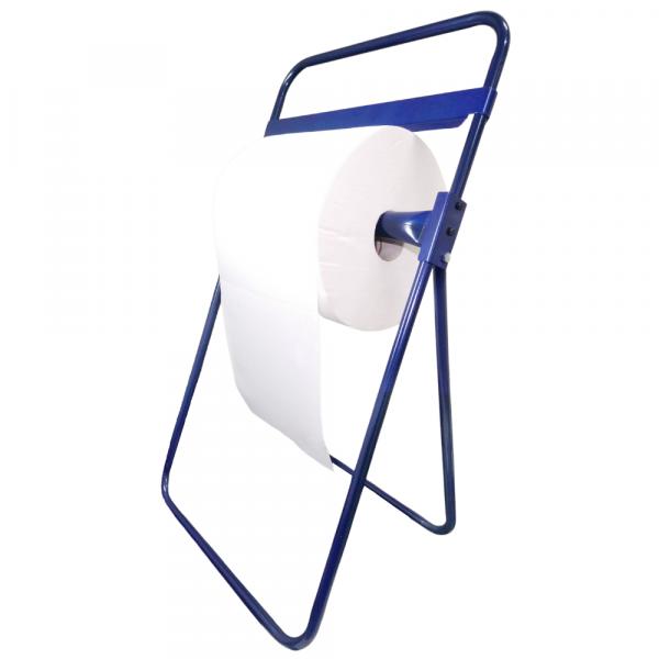 STOJAK PODŁOGOWY NA CZYŚCIWO niebieski mobilny DK010